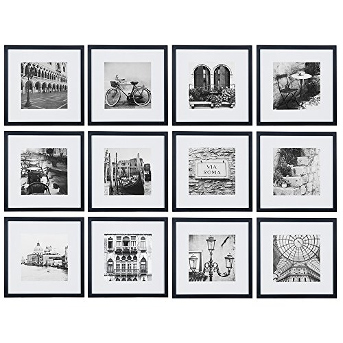 Top 10 Gallery Wall Kit – Wall & Tabletop Picture Frames