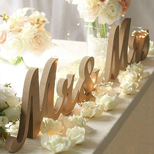 Top 10 Wedding Decorations for Tables – Decorative Signs & Plaques