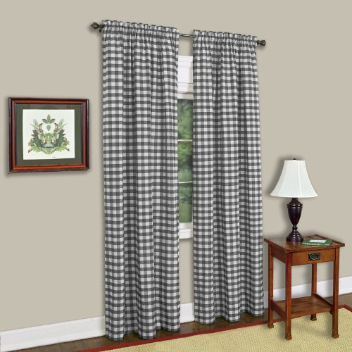 Top 10 Achim Buffalo Check Curtains – Window Curtain Panels