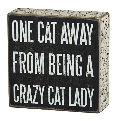 Top 8 Crazy Cat Lady – Decorative Signs & Plaques