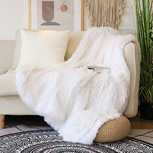 Top 10 White Fuzzy Blanket – Bed Throws