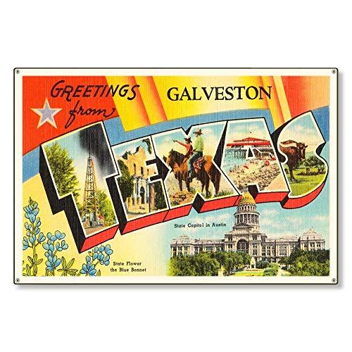 Top 10 Vintage Travel Postcards – Decorative Signs & Plaques