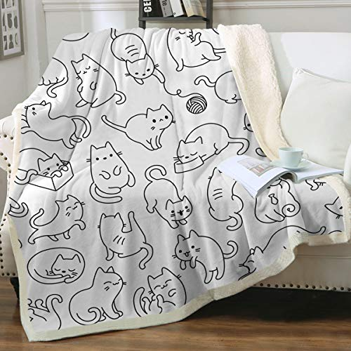 Top 10 Cat Gifts for Cat Lovers – Bed Throws