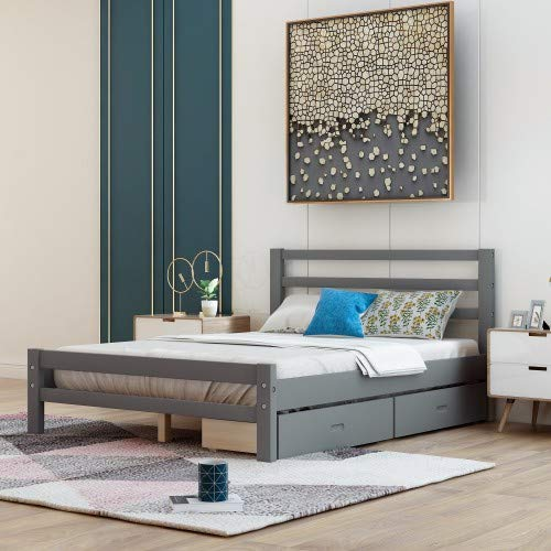Top 10 Full Size Bed Frame with Storage Drawers – Beds