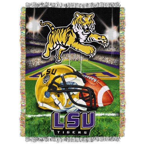 Top 6 LSU Throw Blanket – Sports Fan Throw Blankets