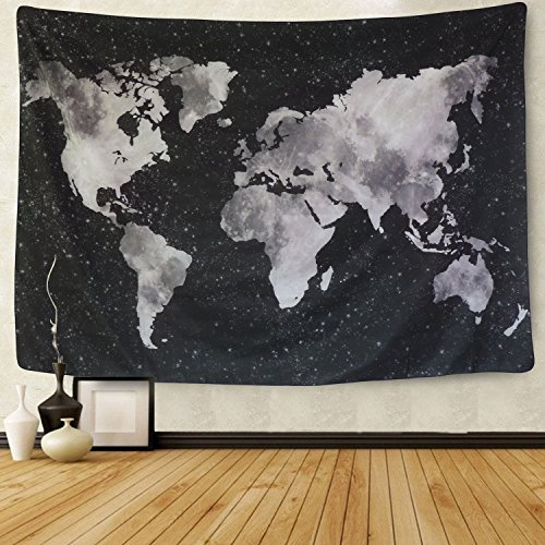 Top 10 World Map Tapestry Wall Hanging – Tapestries