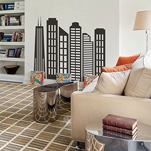 Top 8 Skyline Wall Decal – Wall Stickers & Murals