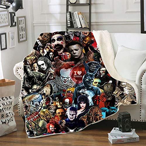 Top 9 Horror Movie Blanket – Bed Blankets