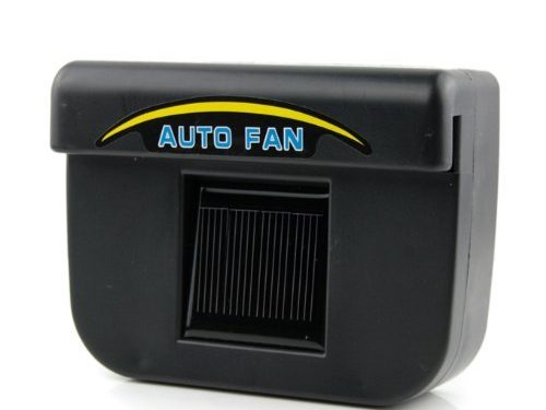 Fordex Group Solar Powered Car Auto Air Vent Cooling Fan System As Seen on Tv