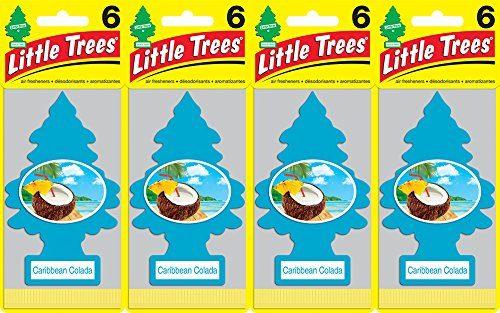 Little Trees Caribbean Colada Air Freshener, Pack of 24