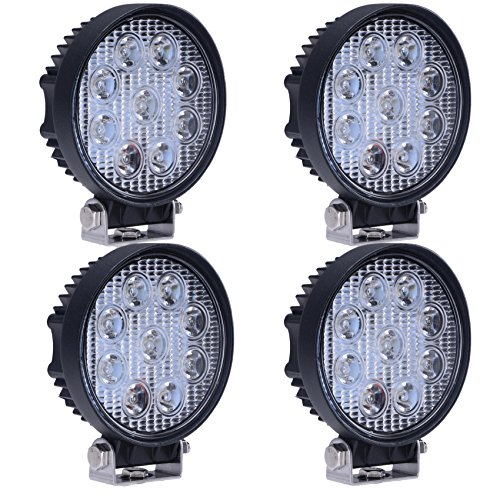 27w Round Led Work Light Lamp Off Road High Power Atv Jeep