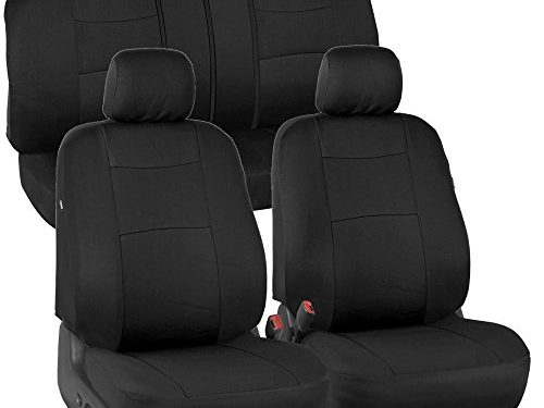 EasyWrap Interior Protection for Auto – PolyCloth Black Car Seat Covers