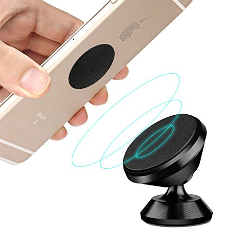 magnetic iphone car mount magnetic car mount holder hetbees universal 360 176 rotation 15661