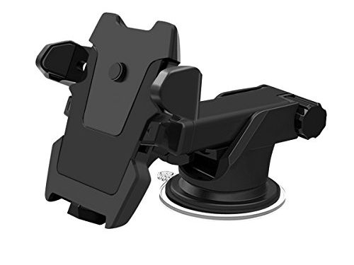 All Cart Car Phone Mount, 360 Degrees Rotation Car Mount,Universal Adjustable with Strong Sticky Gel Pad