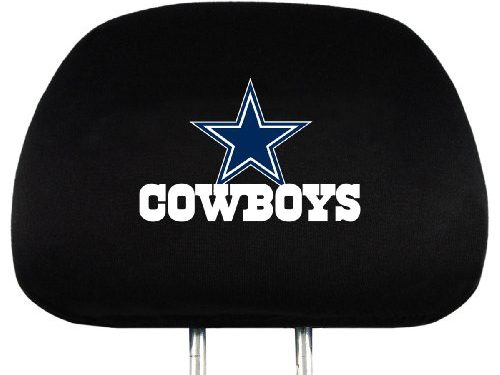 NFL Dallas Cowboys Head Rest Covers, 2-Pack