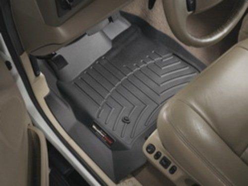 WeatherTech Custom Fit Front FloorLiner for Honda Pilot Black