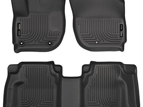 Husky Liners Front & 2nd Seat Floor Liners Footwell Coverage Fits 15-18 Fit