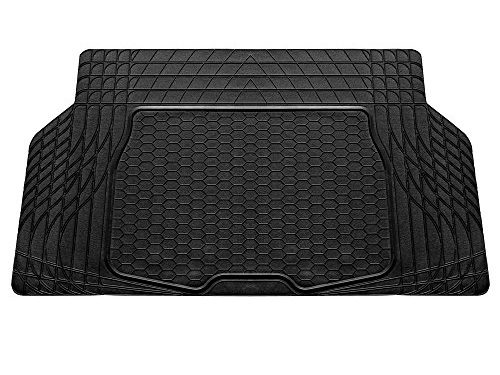 FH Group F16403BLACK Cargo Mat Fits Most Sedans, Coupes and Small SUVs Semi Custom Trimmable Vinyl Black