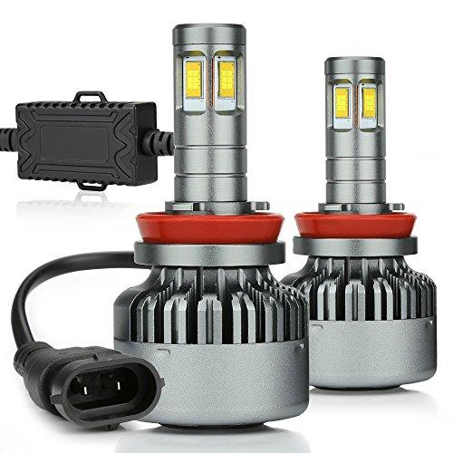 Zdatt 12000lm Super Bright 100w H7 Led Headlight Bulbs