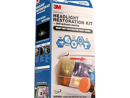 3M 39165 Headlight Restoration Kit Heavy Duty – Drill Activated
