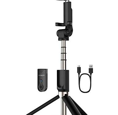 Yoozon Selfie Stick Bluetooth, Extendable Selfie Stick with Wireless Remote and Tripod Stand Selfie Stick for iPhone Xs MAX/XR/XS/X/8/8 Plus/7 Plus/Galaxy S9/S9 Plus/Note 8/S8/S8 Plus/More Blue