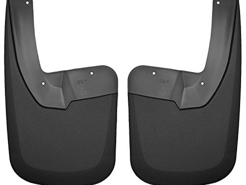 Husky Liners Rear Mud Guards Fits 09-18 Ram 1500, 10-18 Ram 2500/3500, 2019 1500 Ram Classic WITH OEM Fender Flares