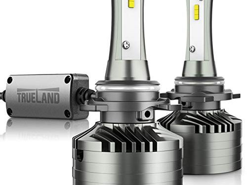H11 LED Headlight Bulb Conversion Kit 10000LM Super Bright 6000K H11 Hi/Lo Beam H8 Fog Light Bulb H9 LED Headlamp Bulb Anti-Flickering Canbus Decoder Top CSP IP67 Silent Fans