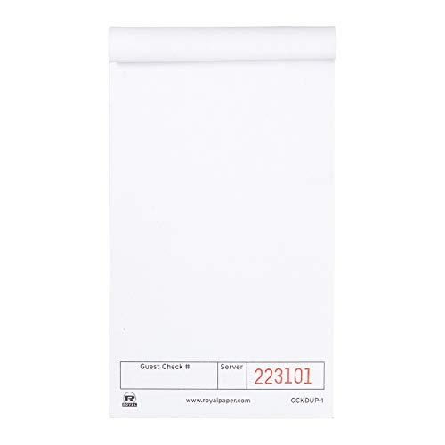 Top 10 Copy Paper White Case – Commercial Guest Checks