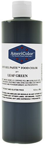 Top 9 Americolor Gel Food Coloring GREEN – Food Coloring