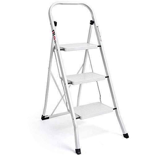 Top 9 3-step Folding Ladder – Step Ladders