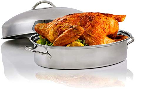 Top 10 Roasting Pan with Rack and Lid – Roasting Pans