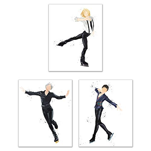 Top 9 Yuri on Ice Watercolor – Posters & Prints