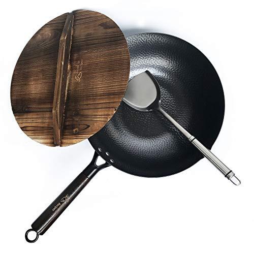 Top 10 Carbon Steel Wok with Lid – Woks & Stir-Fry Pans