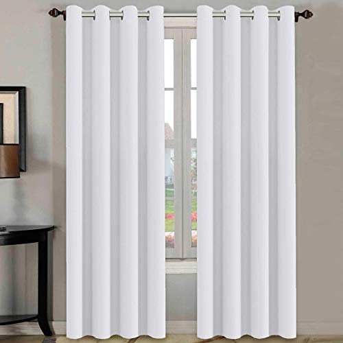 Top 10 White Curtains 96 Inches Long – Window Curtain Panels