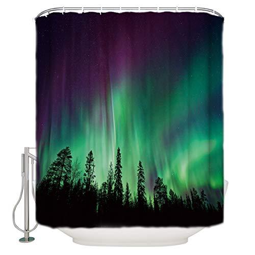 Top 9 Aurora Borealis Shower Curtain – Shower Curtain Sets