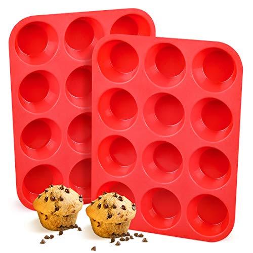 Top 9 LFGB Silicone Muffin Pan – Muffin & Cupcake Pans