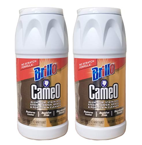 Top 6 Cameo Stainless Steel Cleaner – Household Cleaning Metal Polishes