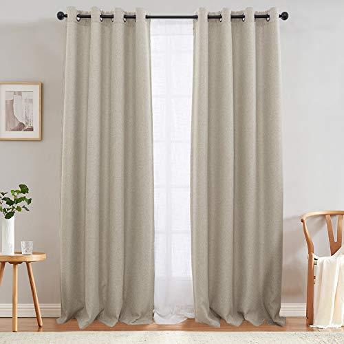 Top 10 Jinchan Curtains Bedroom – Window Curtain Panels