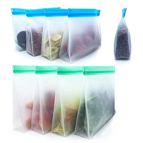 Top 10 Reusable Silicone Food Storage Bags Quart – Food Container Sets