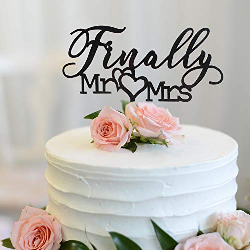 Top 7 Finally Mr and Mrs Cake topper – Home & Kitchen Features