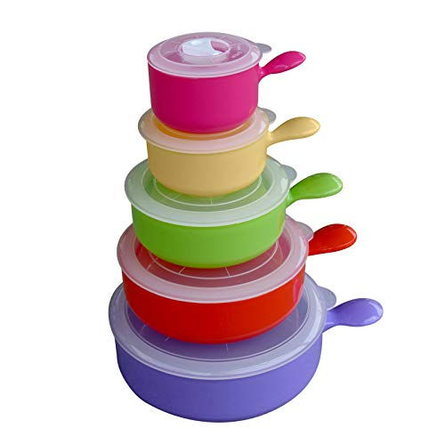 Top 9 Bowls with Lids Microwavable Set – Food Container Sets