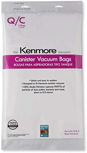 Top 9 50557 Vacuum Bags Kenmore HEPA – Replacement Canister Vacuum Bags