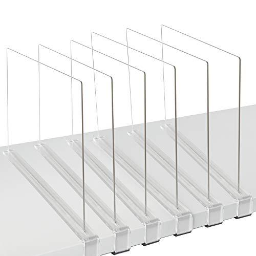 Top 10 Acrylic Shelf Dividers – Shelf Dividers