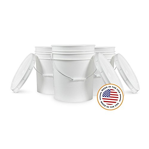 Top 10 Pail with Lid 5 Gallon – Household Mop Buckets