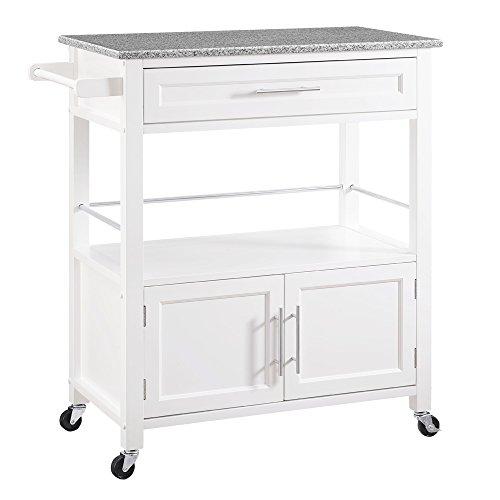 Top 10 Mitchell White Kitchen Cart with Storage – Kitchen Islands & Carts