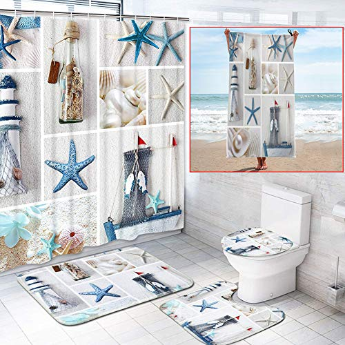 Top 10 Complete Bathroom Set with Shower Curtain – Shower Curtain Sets