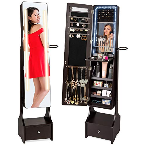 Top 10 Stand Up Mirror Jewelry Box – Jewelry Armoires