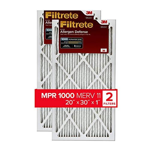Top 10 Air Filter 20x30x1 – Furnace Filters