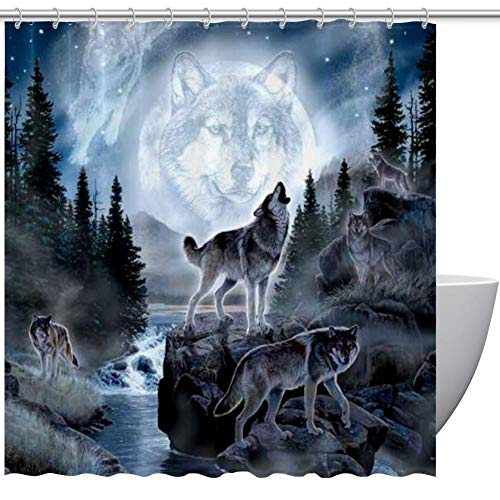 Top 10 Wolves Shower Curtain – Shower Curtain Sets