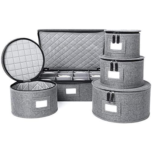 Top 10 Dinnerware Storage Containers – Stemware Storage Cases